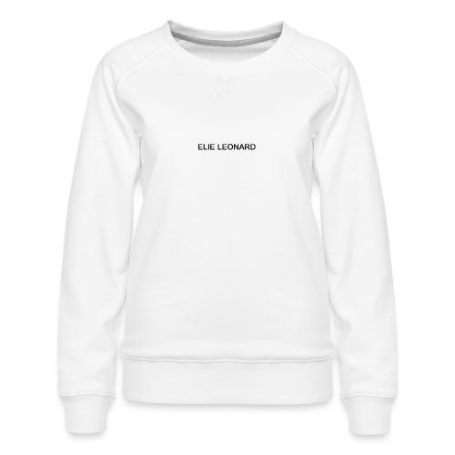 ELIE LEONARD - Sweat ras-du-cou Premium Femme