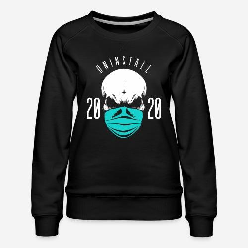 2020 deinstallieren - Frauen Premium Pullover
