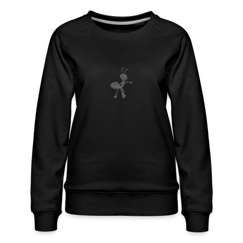 Mier wijzen - Vrouwen premium sweater