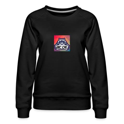 bcde_logo - Frauen Premium Pullover