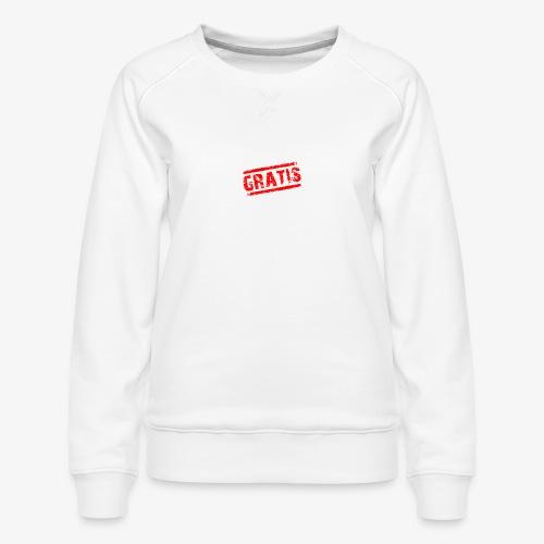 verkopenmetgratis - Vrouwen premium sweater