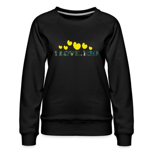 ILOVE.RIO TROPICAL N°2 - Women's Premium Sweatshirt
