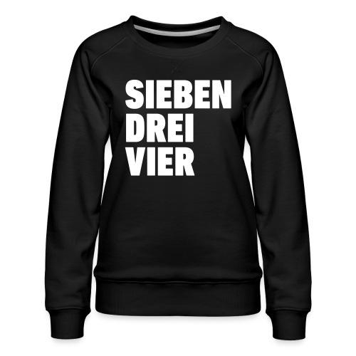 734 Sieben drei vier - Frauen Premium Pullover
