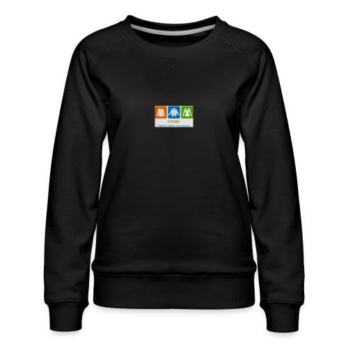 IMG 3596 - Dame premium sweatshirt