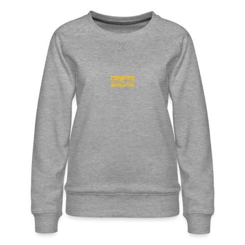 Crypto Revolution III - Women's Premium Sweatshirt