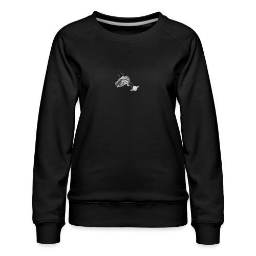 The Sticks - Logo [WHITE] - Women's Premium Sweatshirt