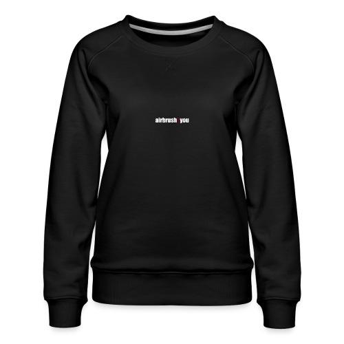 Airbrush - Frauen Premium Pullover