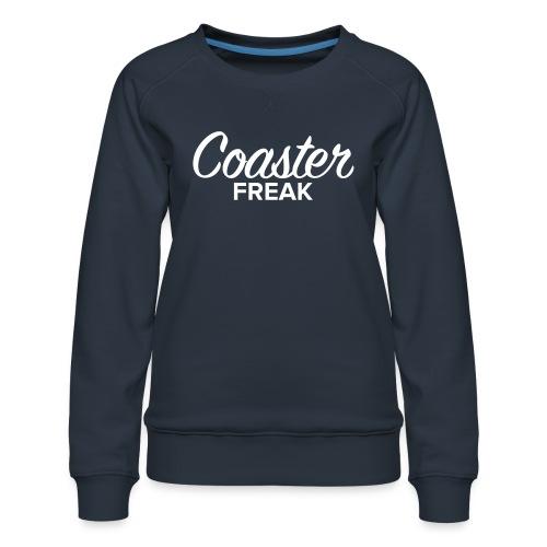 Coaster Freak Script - Sweat ras-du-cou Premium Femme