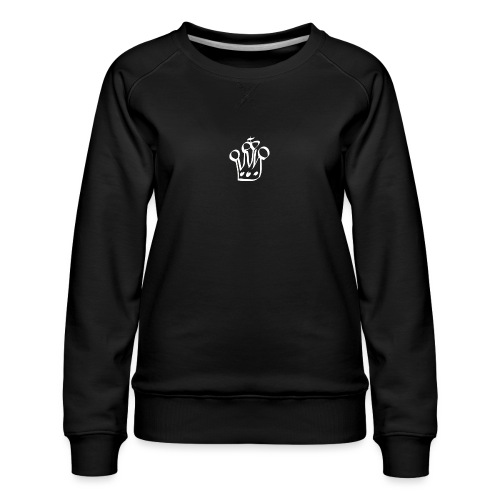 MTeVrede 6 kroon wit2 - Women's Premium Sweatshirt