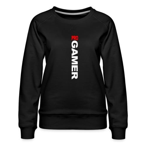 Pro Gamer (weiss) - Frauen Premium Pullover
