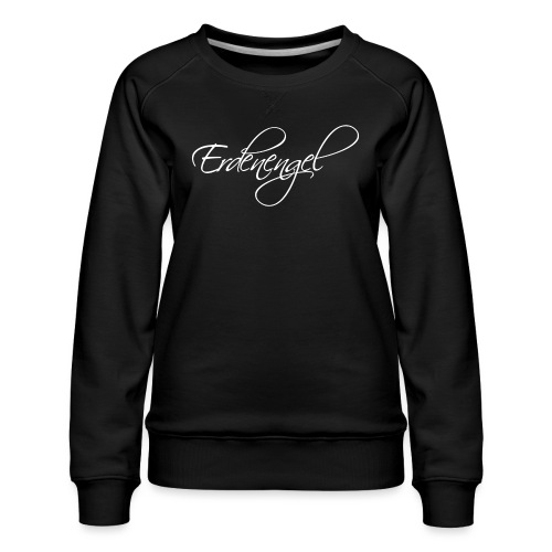Erdenengel (Flügel am Rücken) - Frauen Premium Pullover