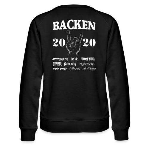 Backen 2020 | Lustiges Backen mit den größten - Frauen Premium Pullover