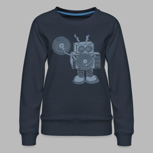 Hey Mr DJ ✴CUSTOMISABLE DESIGN✴ - Women's Premium Sweatshirt