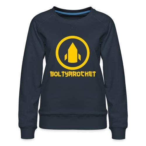 Bolt Ya Rocket - Women's Premium Sweatshirt