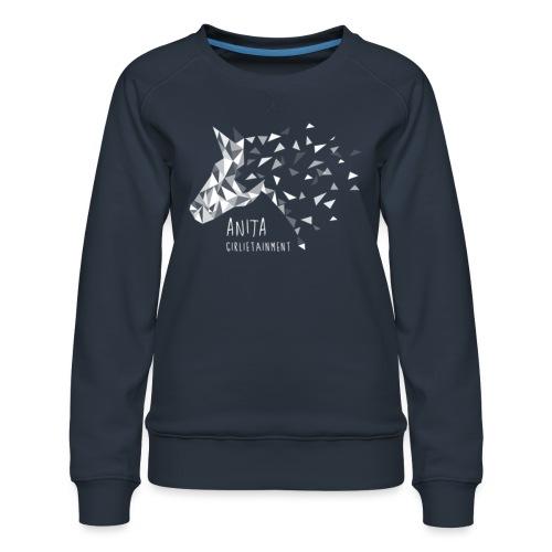 Anita GirlietainmentWHITE - Frauen Premium Pullover