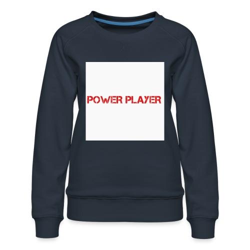 Linea power player - Felpa premium da donna