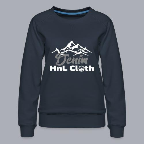 H&L Denim mountain n°1 - Sweat ras-du-cou Premium Femme