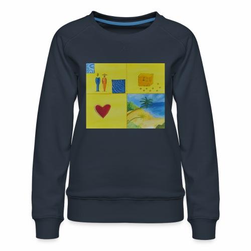 Viererwunsch - Frauen Premium Pullover