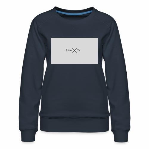 john tv - Women's Premium Sweatshirt