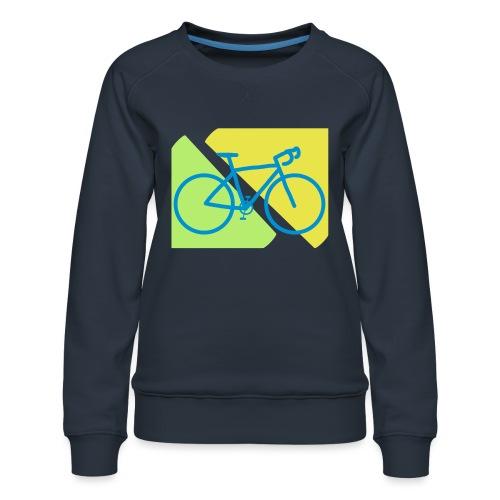 Racefiets - Vrouwen premium sweater