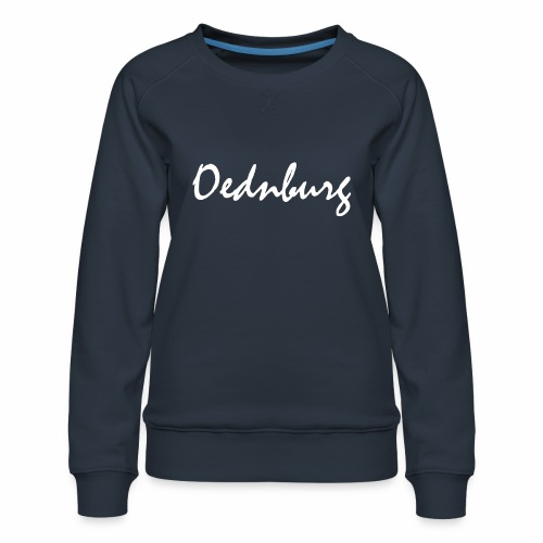 Oednburg Wit - Vrouwen premium sweater