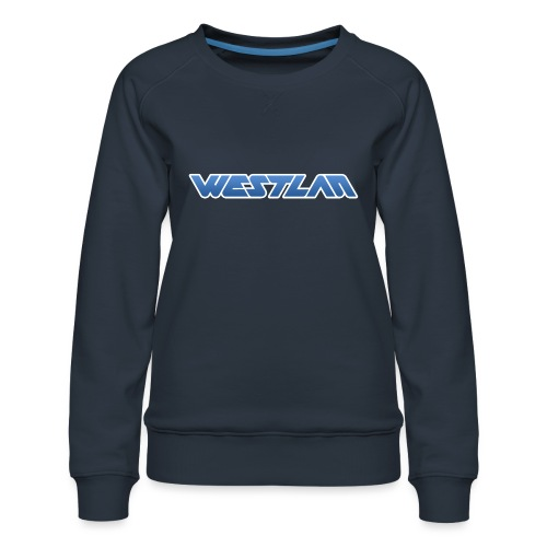 WestLAN Logo - Women's Premium Sweatshirt