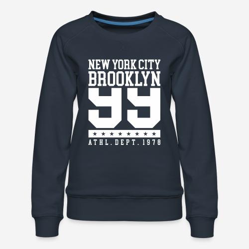 New York City Brooklyn - Frauen Premium Pullover