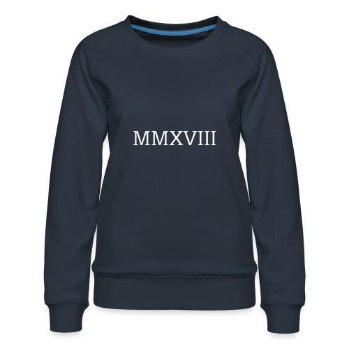 MMXVII - design - Sweat ras-du-cou Premium Femme