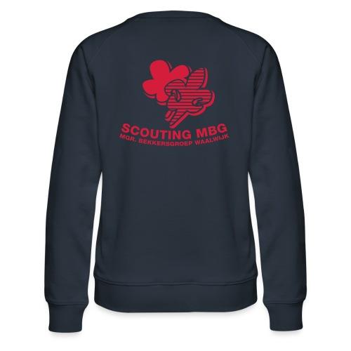 Leidingtrui - Vrouwen premium sweater