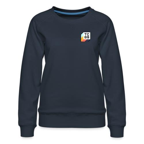 TCGS Black Outline - Women's Premium Sweatshirt