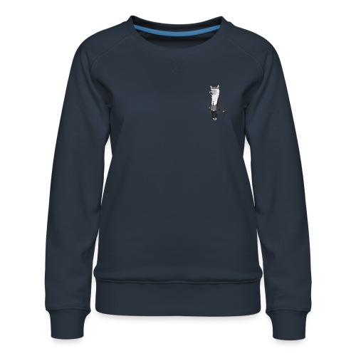 Gentle Llama - Dame premium sweatshirt