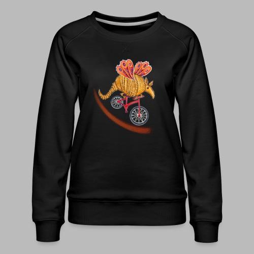 Flying Armadillo - Women's Premium Sweatshirt