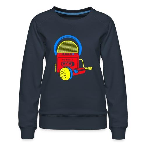 My first Boombox - Vrouwen premium sweater
