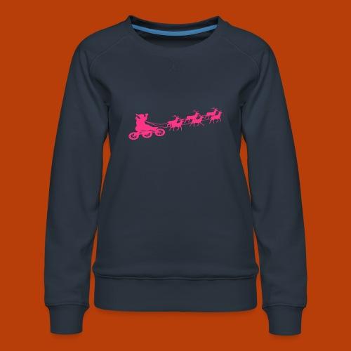 Ho Hoo Weihnachts Rentier Skate - Frauen Premium Pullover