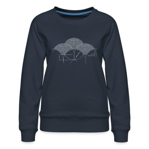 European Fan White - Vrouwen premium sweater