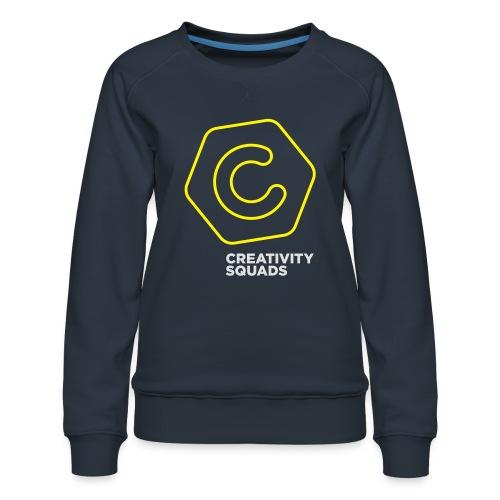 CreativitySquads 002 - Naisten premium-collegepaita