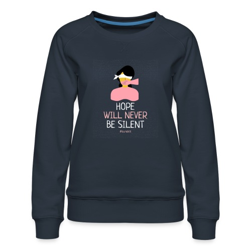 women s rights tshirt design - Sudadera premium para mujer