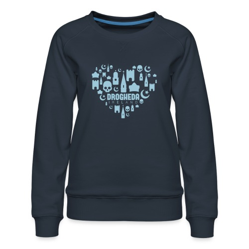 Drogheda Black - Women's Premium Sweatshirt