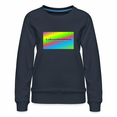 LukasVSMikkel Logo - Dame premium sweatshirt