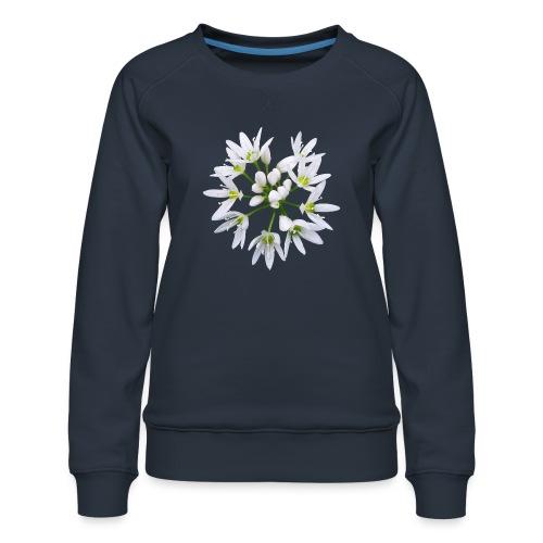 TIAN GREEN Garten - Bärlauch 2020 01 - Frauen Premium Pullover
