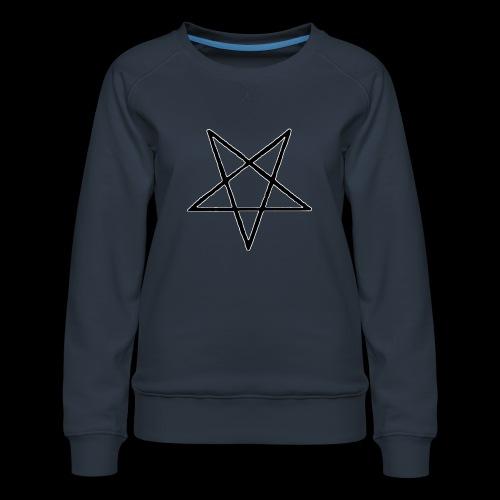 Pentagram4 png - Frauen Premium Pullover
