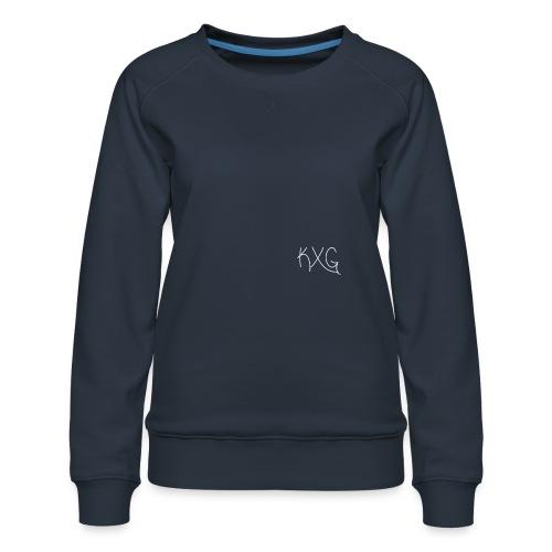 KXGlogo png - Vrouwen premium sweater