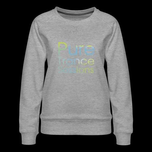 pts text hd - Women's Premium Sweatshirt