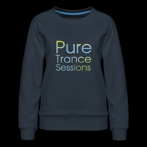 pts text hd - Women's Premium Sweatshirt