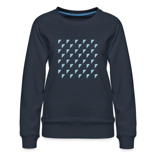 kussensloop driehoekjes - Vrouwen premium sweater