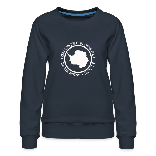 Great God! - Women's Premium Sweatshirt