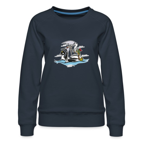 Birds of a Feather - Women's Premium Sweatshirt