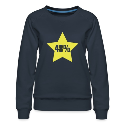 48% in Star - Women's Premium Sweatshirt
