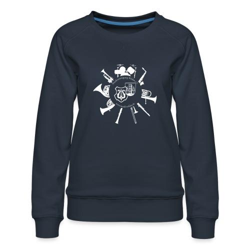 Instrumentenkreis_4000_ws - Frauen Premium Pullover
