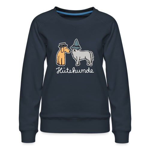 Hütehunde Hunde mit Hut Huetehund - Frauen Premium Pullover